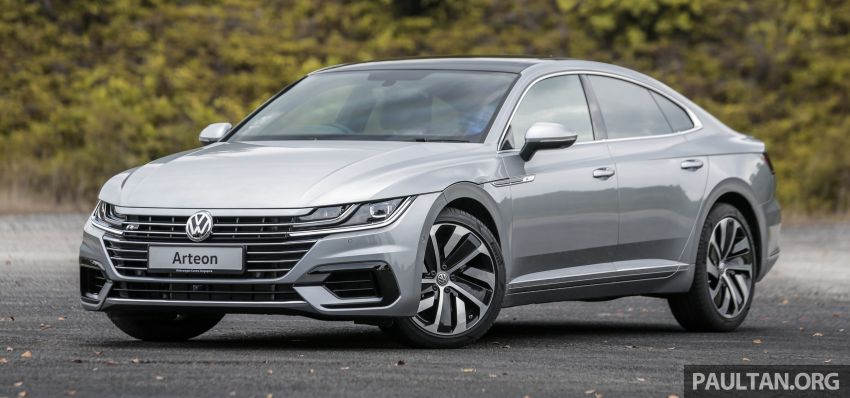 GALLERY: VW Arteon previewed in M'sia; Oct launch Image #1008909
