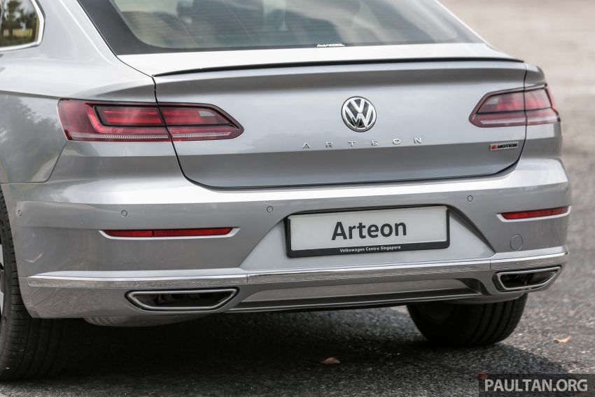 GALLERY: VW Arteon previewed in M'sia; Oct launch Image #1008958
