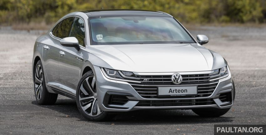 GALLERY: VW Arteon previewed in M'sia; Oct launch Image #1008910