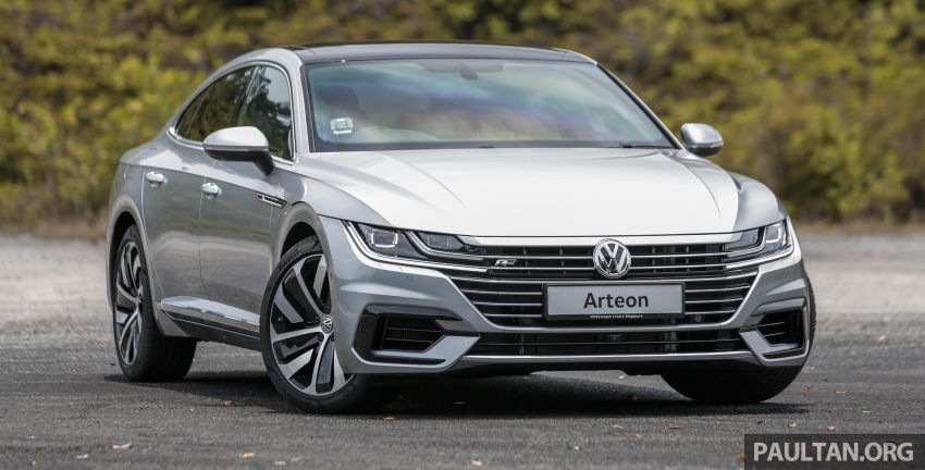 GALLERY: VW Arteon previewed in M'sia; Oct launch Image #1008911
