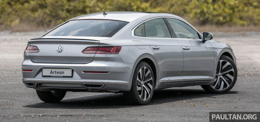 GALLERY: VW Arteon previewed in M'sia; Oct launch Image #1008912