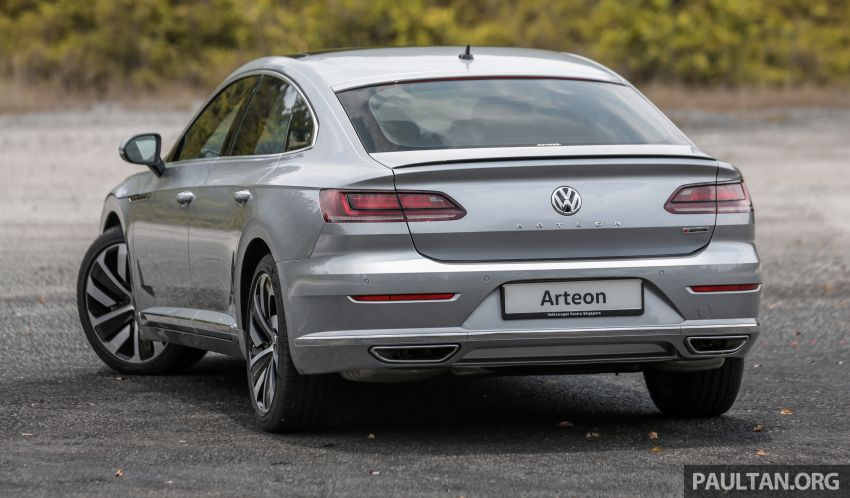 GALLERY: VW Arteon previewed in M'sia; Oct launch Image #1008914