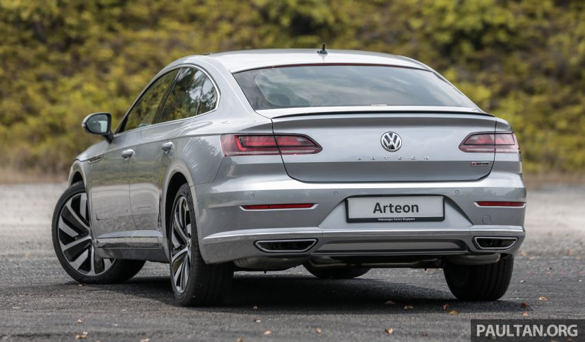 GALLERY: VW Arteon previewed in M'sia; Oct launch Image #1008915