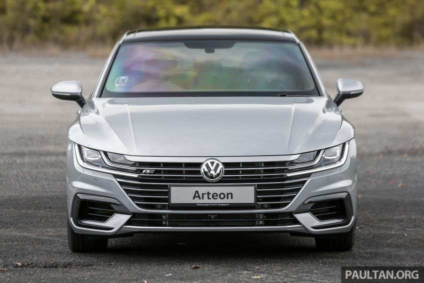 GALLERY: VW Arteon previewed in M'sia; Oct launch Image #1008916