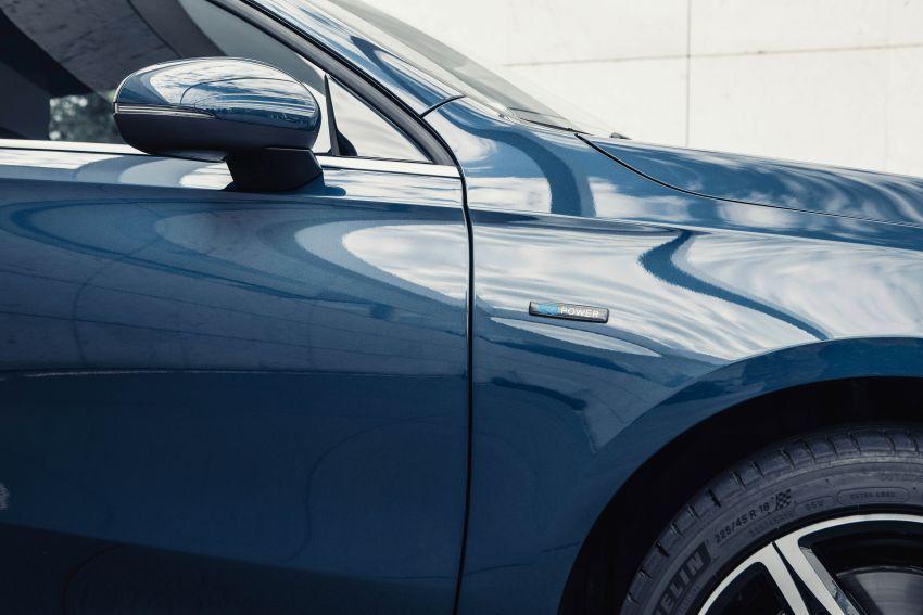 W177 Mercedes-Benz A250e plug-in hybrid debuts – joined by A250e Sedan and B250e; 70-77 km EV range Image #1003448