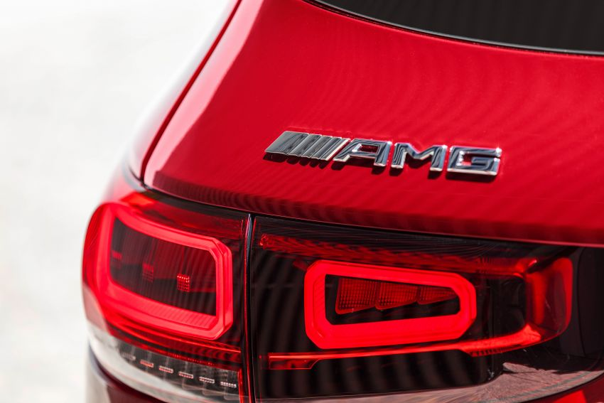 X247 Mercedes-AMG GLB35 4Matic officially debuts – 302 hp and 400 Nm; zero to 100 km/h in 5.2 seconds Image #1008383