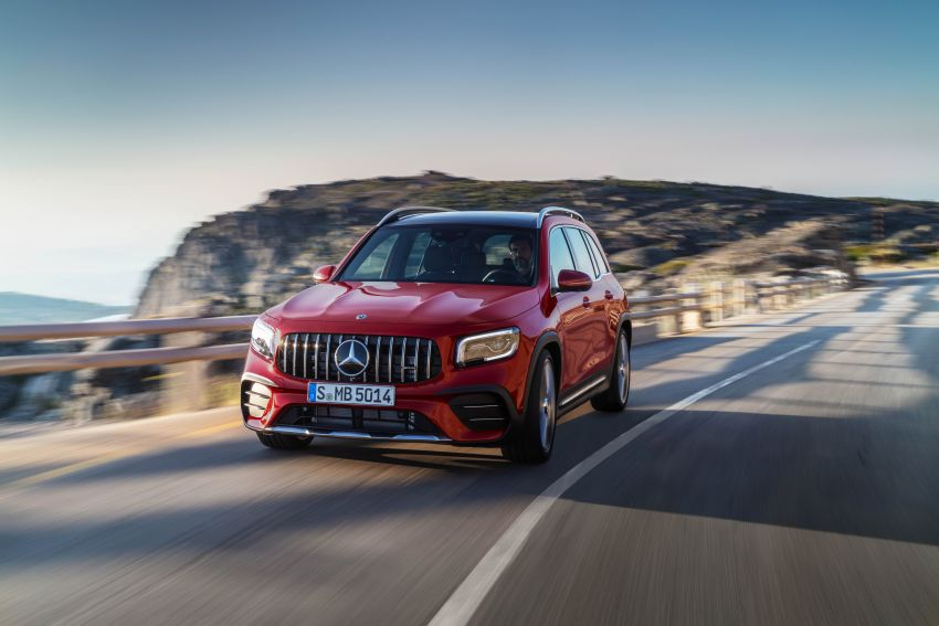 X247 Mercedes-AMG GLB 35 4Matic officially debuts – 302 hp and 400 Nm; zero to 100 km/h in 5.2 seconds Image #1008353