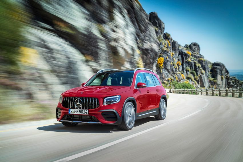 X247 Mercedes-AMG GLB35 4Matic officially debuts – 302 hp and 400 Nm; zero to 100 km/h in 5.2 seconds Image #1008361