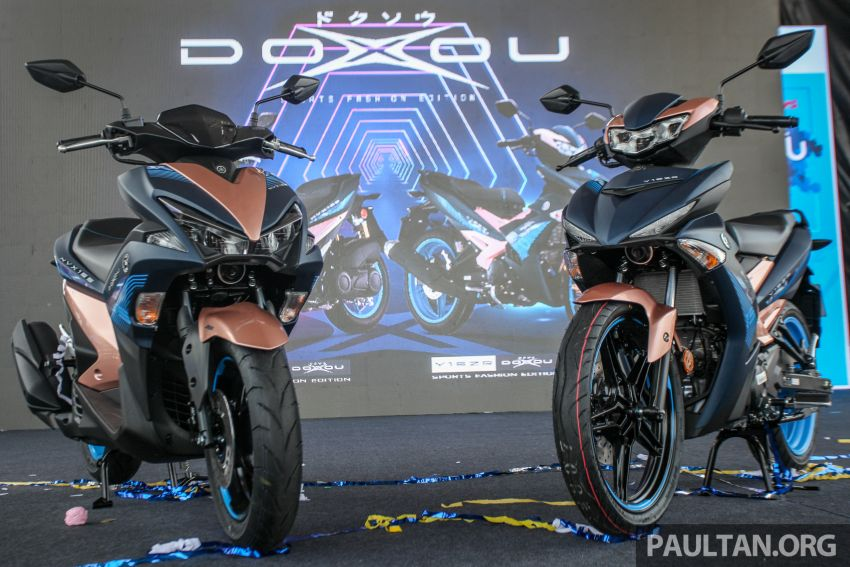 2019 Yamaha Y15ZR and NVX155 Doxou launched at Yamaha Gen Blu Carnival – price from RM8,868 Image #997149