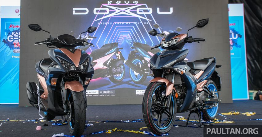 2019 Yamaha Y15ZR and NVX155 Doxou launched at Yamaha Gen Blu Carnival – price from RM8,868 Image #997148