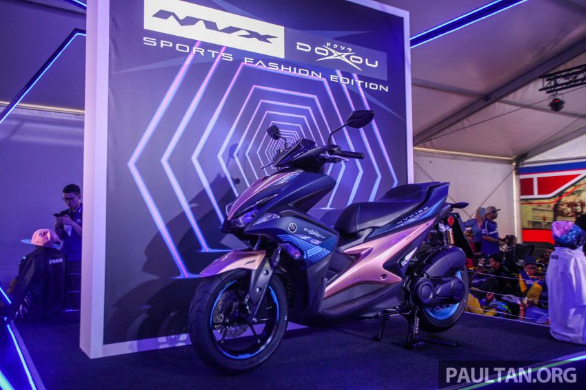 2019 Yamaha Y15ZR and NVX155 Doxou launched at Yamaha Gen Blu Carnival – price from RM8,868 Image #997151