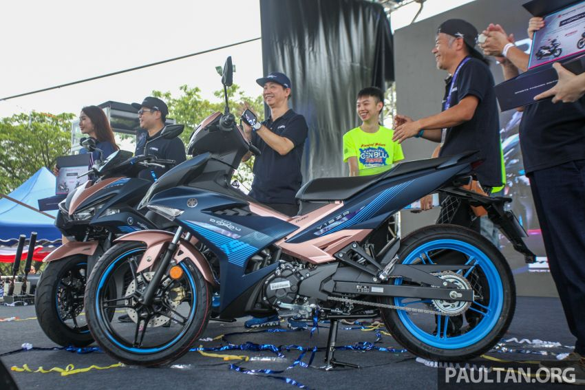 2019 Yamaha Y15ZR and NVX155 Doxou launched at Yamaha Gen Blu Carnival – price from RM8,868 Image #997167