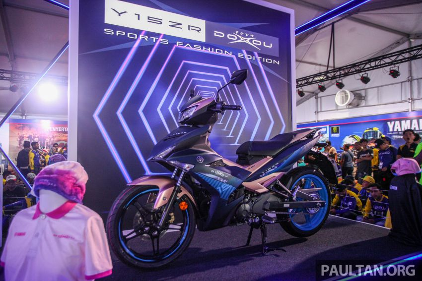 2019 Yamaha Y15ZR and NVX155 Doxou launched at Yamaha Gen Blu Carnival – price from RM8,868 Image #997168