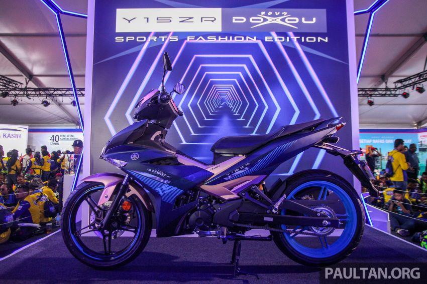 2019 Yamaha Y15ZR and NVX155 Doxou launched at Yamaha Gen Blu Carnival – price from RM8,868 Image #997171