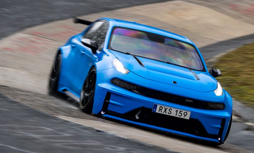 Lynk & Co 03 Cyan Concept breaks Nurburgring four-door and front-wheel-drive records with 7:20.143 lap Image #1005524