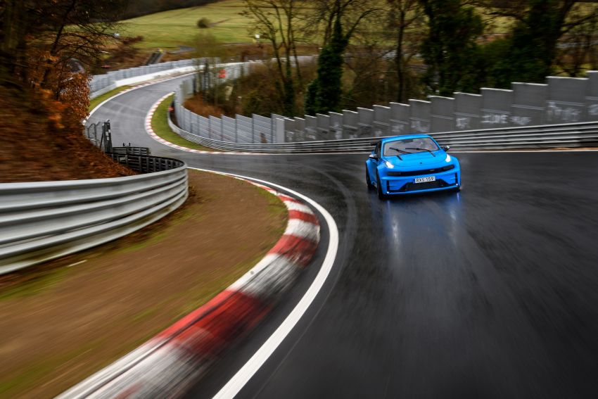 Lynk & Co 03 Cyan Concept breaks Nurburgring four-door and front-wheel-drive records with 7:20.143 lap Image #1005530