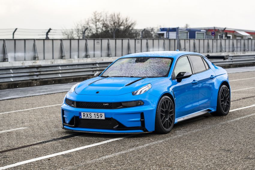 Lynk & Co 03 Cyan Concept breaks Nurburgring four-door and front-wheel-drive records with 7:20.143 lap Image #1005531