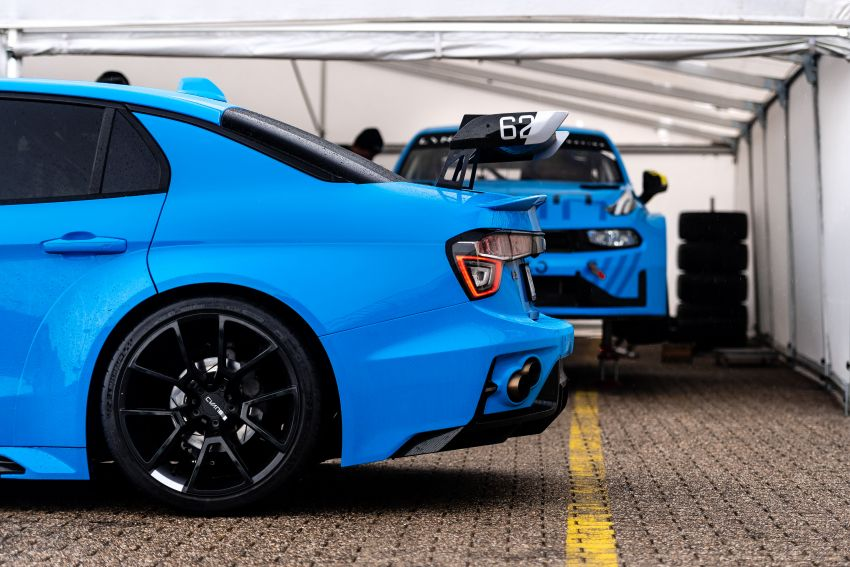 Lynk & Co 03 Cyan Concept breaks Nurburgring four-door and front-wheel-drive records with 7:20.143 lap Image #1005514