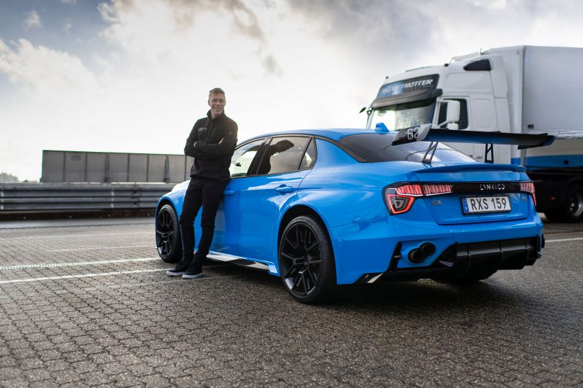 Lynk & Co 03 Cyan Concept breaks Nurburgring four-door and front-wheel-drive records with 7:20.143 lap Image #1005517