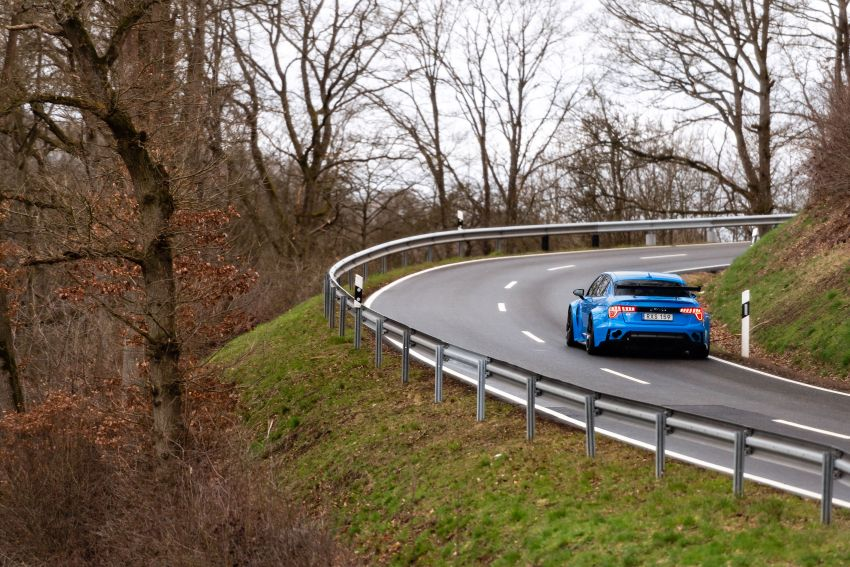 Lynk & Co 03 Cyan Concept breaks Nurburgring four-door and front-wheel-drive records with 7:20.143 lap Image #1005519