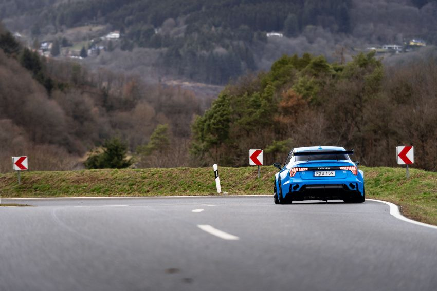 Lynk & Co 03 Cyan Concept breaks Nurburgring four-door and front-wheel-drive records with 7:20.143 lap Image #1005521