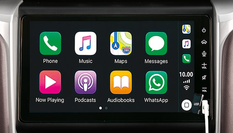 UMW Toyota upgrades infotainment system on Fortuner and Innova – 9.0-inch screen, Apple CarPlay Image #1002811