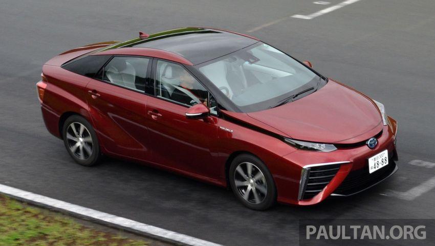 Toyota Mirai gen-kedua bakal dilancarkan pada 2020 Image #1021279