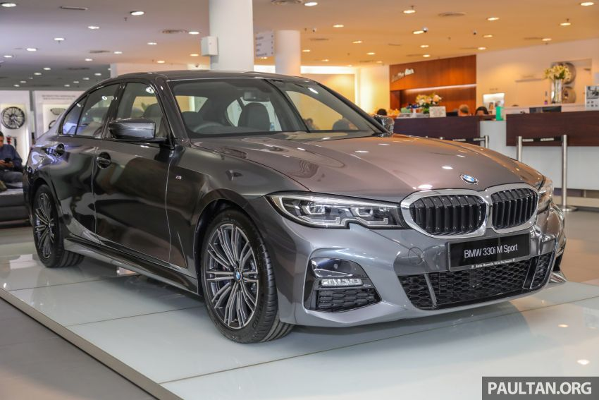GALLERY: Locally-assembled G20 BMW 330i in detail Image #1022722