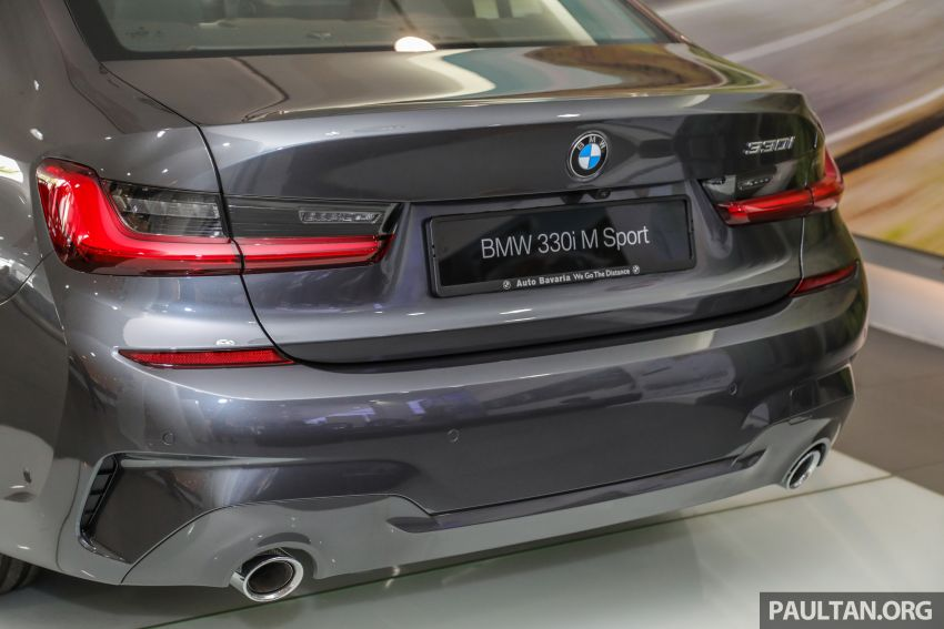 GALLERY: Locally-assembled G20 BMW 330i in detail Image #1022749