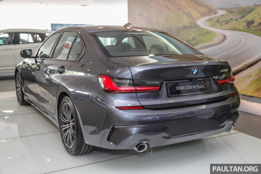 GALLERY: Locally-assembled G20 BMW 330i in detail Image #1022723