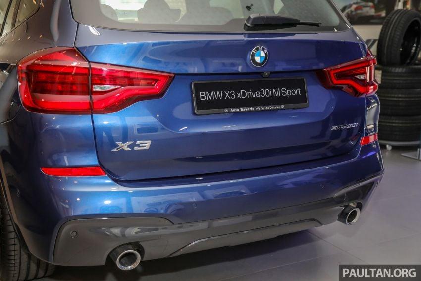 G01 BMW X3 xDrive30i M Sport in Malaysia – RM329k Image #1021973