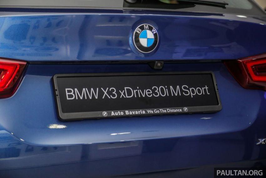 G01 BMW X3 xDrive30i M Sport in Malaysia – RM329k Image #1021976