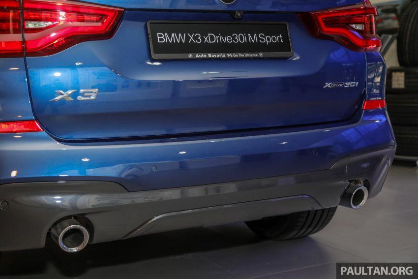 G01 BMW X3 xDrive30i M Sport in Malaysia – RM329k Image #1021977