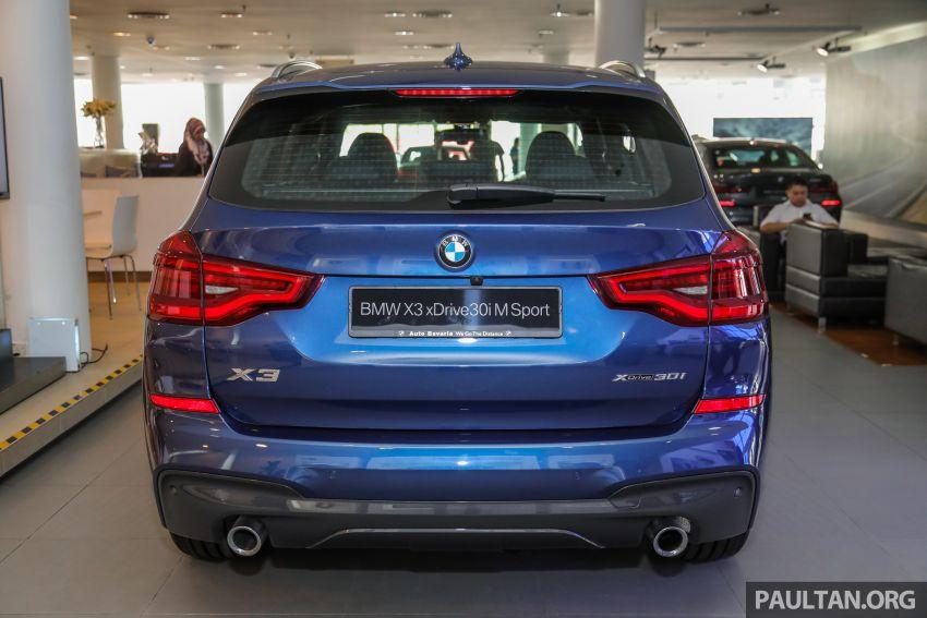 G01 BMW X3 xDrive30i M Sport in Malaysia – RM329k Image #1021959