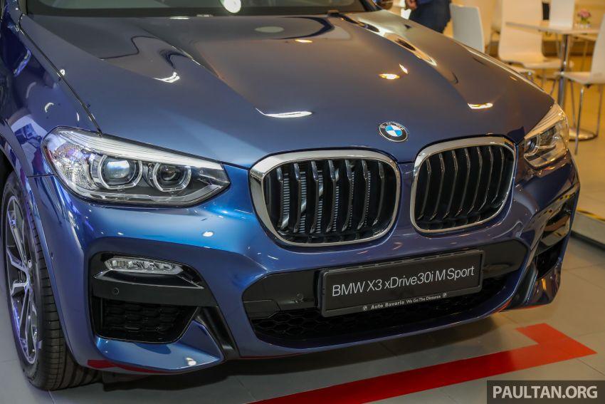 G01 BMW X3 xDrive30i M Sport in Malaysia – RM329k Image #1021960