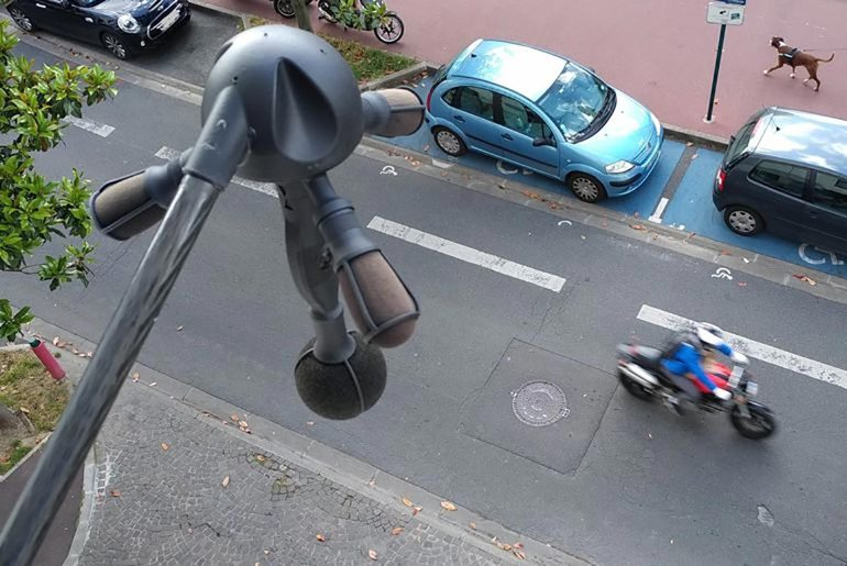 Noise Radar camera being tested in Paris, France Image #1011209