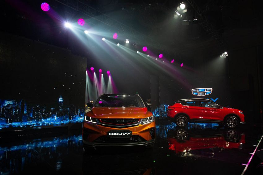 Geely Coolray officially launched in the Philippines – three 1.5L turbo variants; price starts from RM78,641 Image #1021440