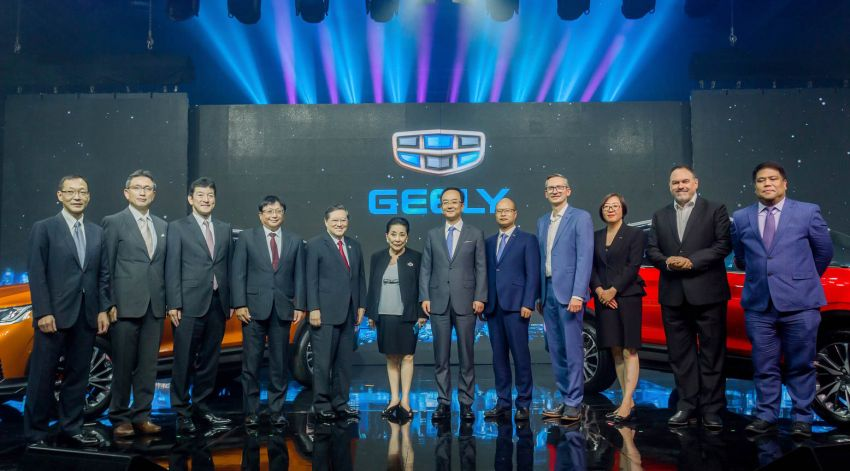 Geely Coolray officially launched in the Philippines – three 1.5L turbo variants; price starts from RM78,641 Image #1021441