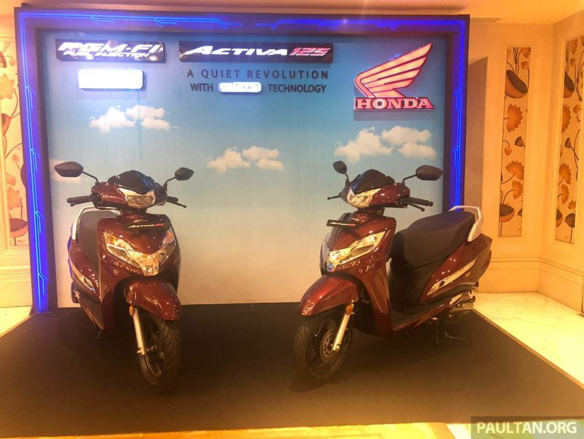 2019 Honda Activa 125 BSVI launched in India – from RM3,932, three model variants, with PGM-Fi Image #1014390
