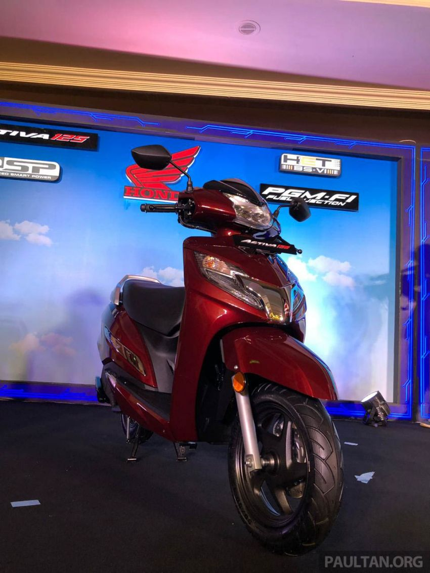 2019 Honda Activa 125 BSVI launched in India – from RM3,932, three model variants, with PGM-Fi Image #1014403