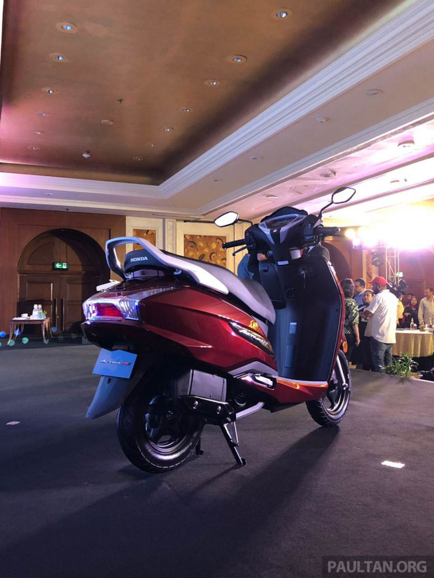2019 Honda Activa 125 BSVI launched in India – from RM3,932, three model variants, with PGM-Fi Image #1014404