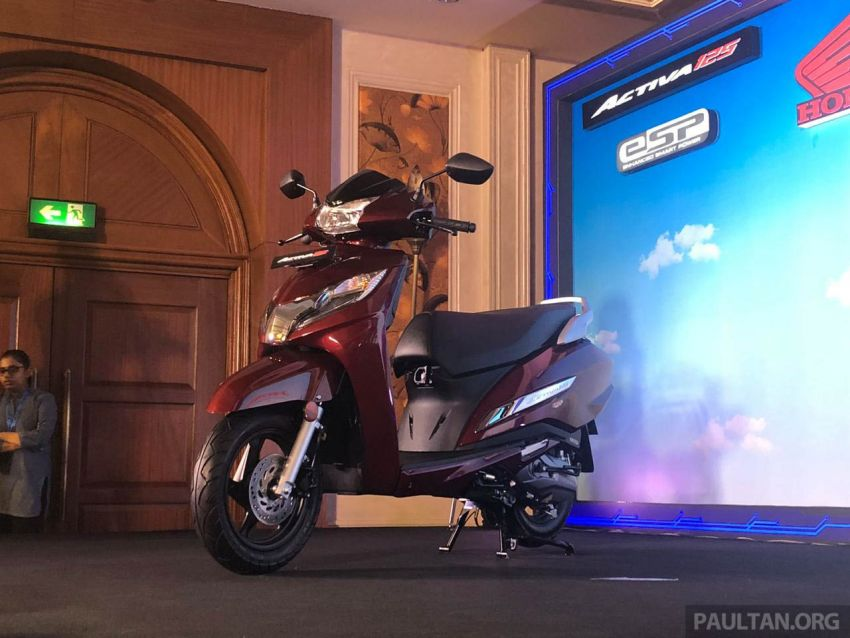2019 Honda Activa 125 BSVI launched in India – from RM3,932, three model variants, with PGM-Fi Image #1014391