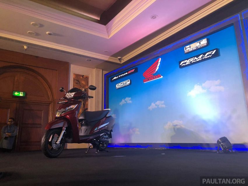 2019 Honda Activa 125 BSVI launched in India – from RM3,932, three model variants, with PGM-Fi Image #1014392