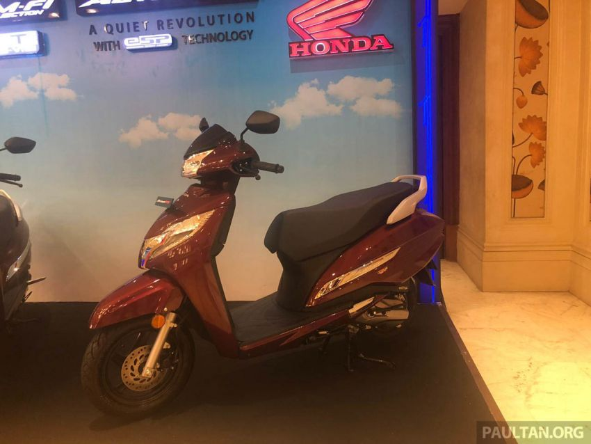 2019 Honda Activa 125 BSVI launched in India – from RM3,932, three model variants, with PGM-Fi Image #1014393