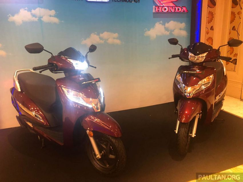2019 Honda Activa 125 BSVI launched in India – from RM3,932, three model variants, with PGM-Fi Image #1014397