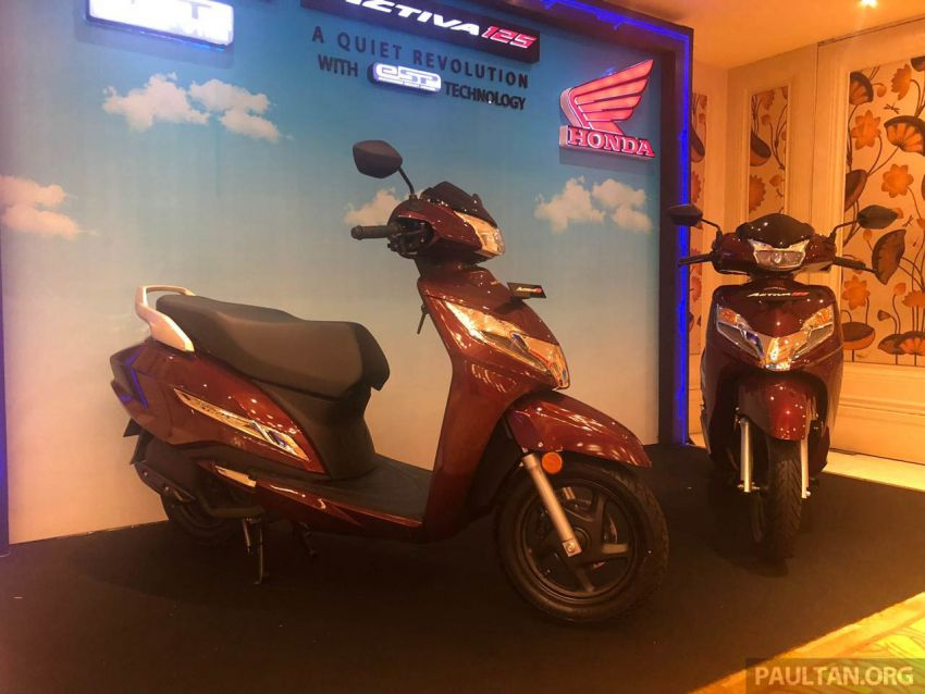 2019 Honda Activa 125 BSVI launched in India – from RM3,932, three model variants, with PGM-Fi Image #1014398