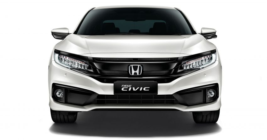 2019 Honda Civic facelift now open for booking in M'sia ahead of Q4 launch – Honda Sensing added Image #1012297