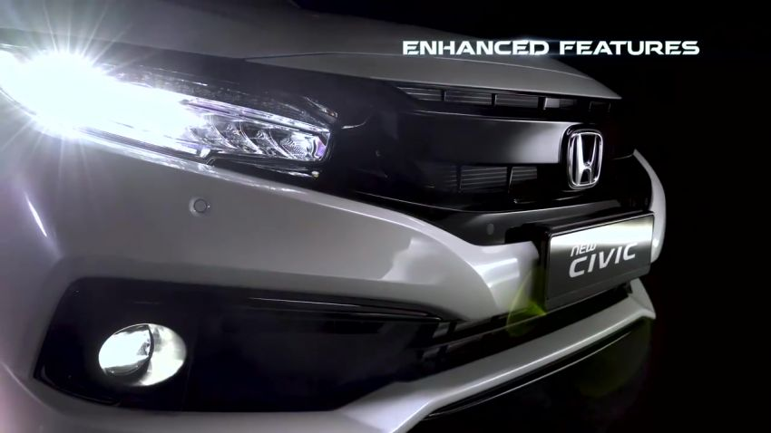 2019 Honda Civic facelift now open for booking in M'sia ahead of Q4 launch – Honda Sensing added Image #1012355