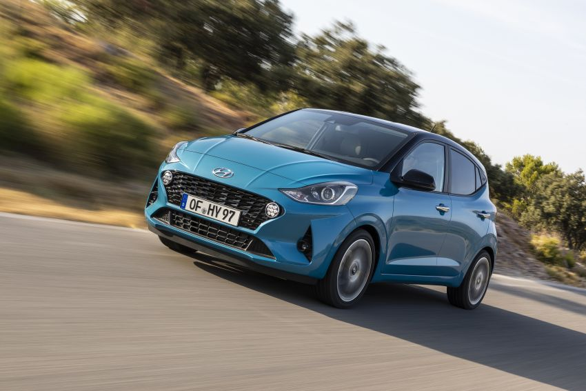 2019 Hyundai i10 unveiled – new tech, same engines Image #1010043
