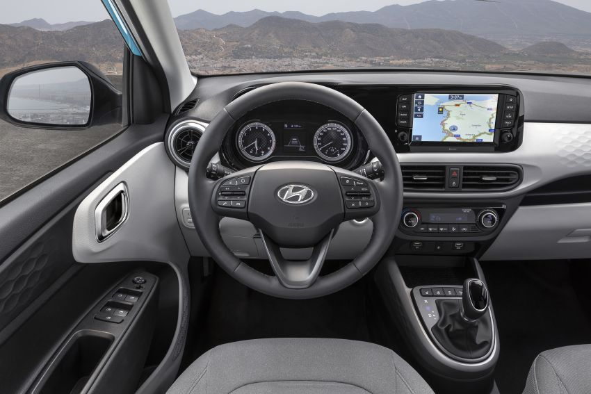 2019 Hyundai i10 unveiled – new tech, same engines Image #1010055